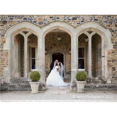 Fawsley Hall wedding