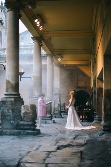 Roman Baths ceremony for two