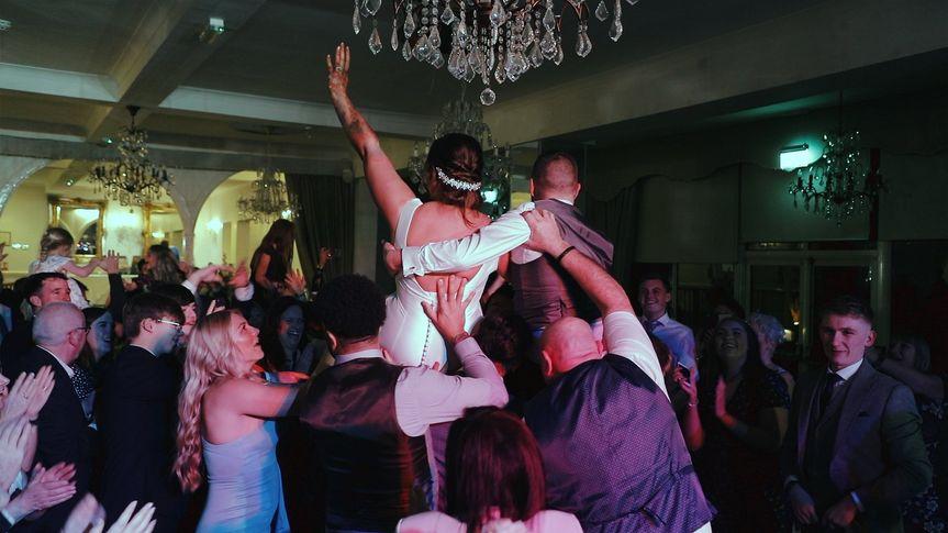 Wedding reception party!