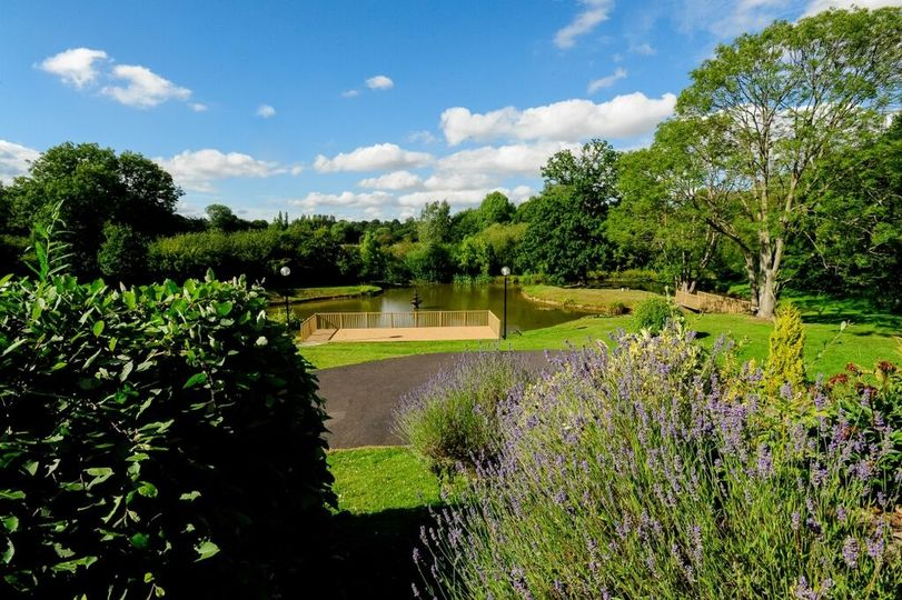 Six acres of Secluded Grounds