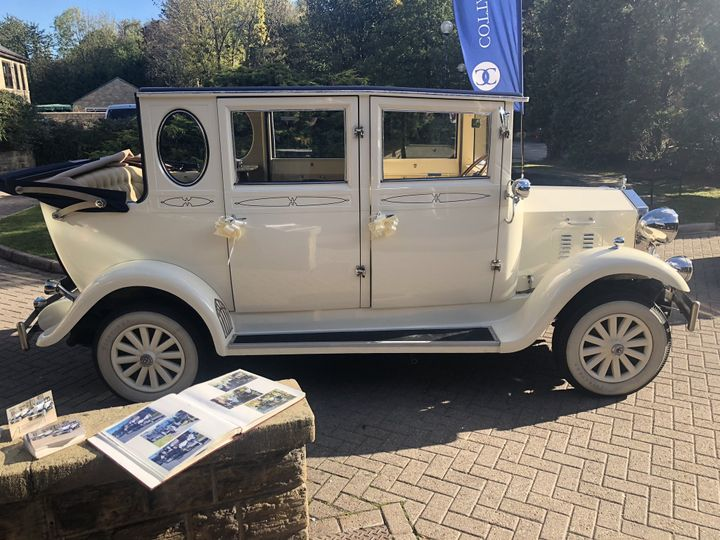 Vintage Car for Bride