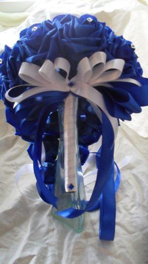 Fantastic New Royal Blue Bouquet