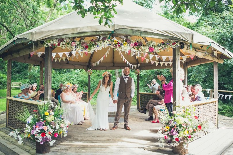 Cornish Tipi Weddings 31
