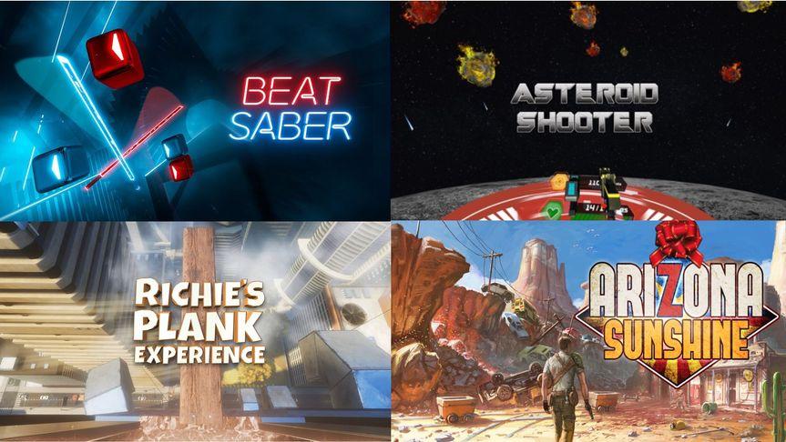 Short arcade VR experiences
