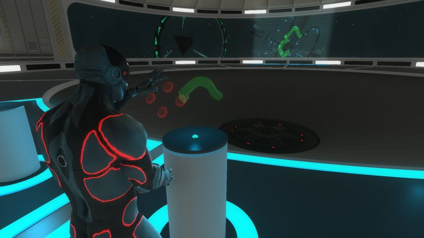 Solve VR puzzles with guests