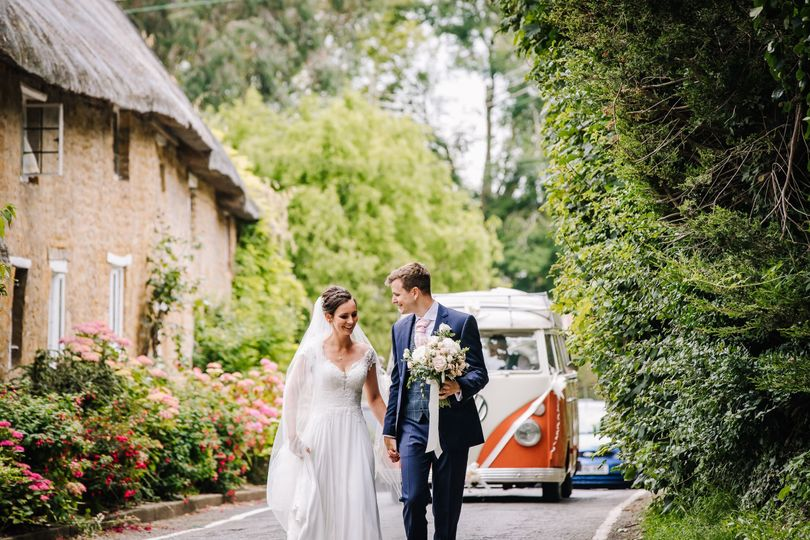 Cars and Travel Vintage Wedding Day - classic and rare Volkswagen Campervans 24