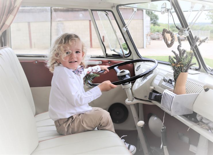 Cars and Travel Vintage Wedding Day - classic and rare Volkswagen Campervans 35