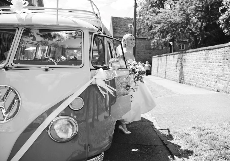 Cars and Travel Vintage Wedding Day - classic and rare Volkswagen Campervans 41