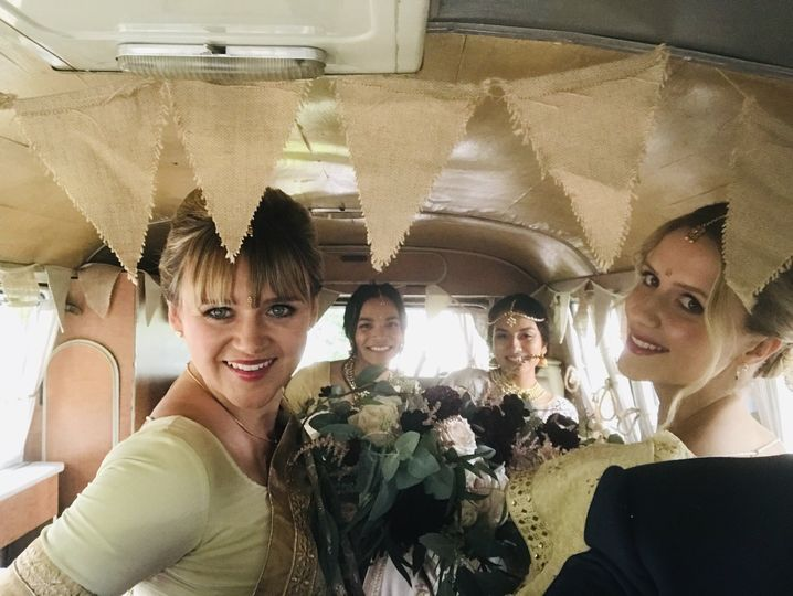 Cars and Travel Vintage Wedding Day - classic and rare Volkswagen Campervans 45