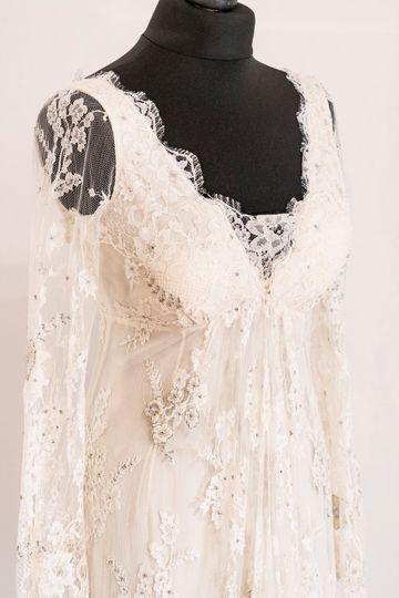 Temperley wedding gown