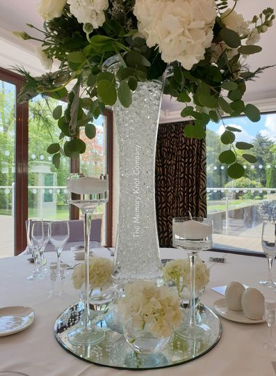 Tall Wedding Centrepiece Hire Cumbria