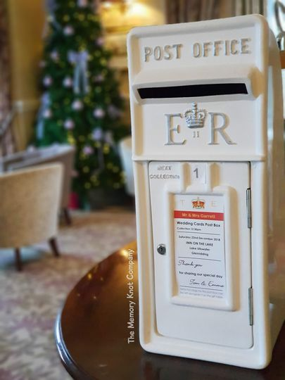 Wedding Post Box Hire Cumbria