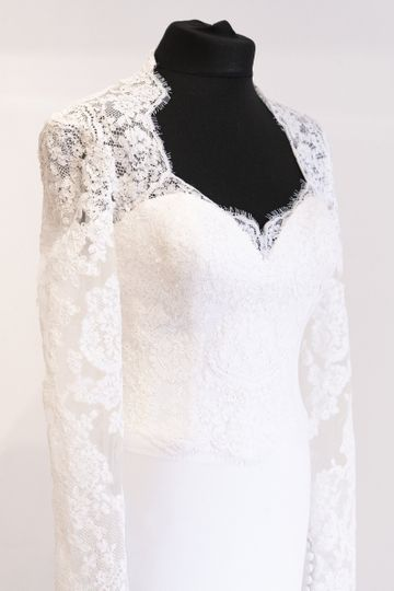 Temperley long-sleeved lace