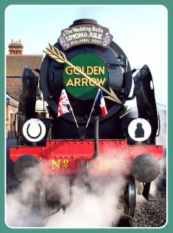 Hop aboard the Golden Arrow