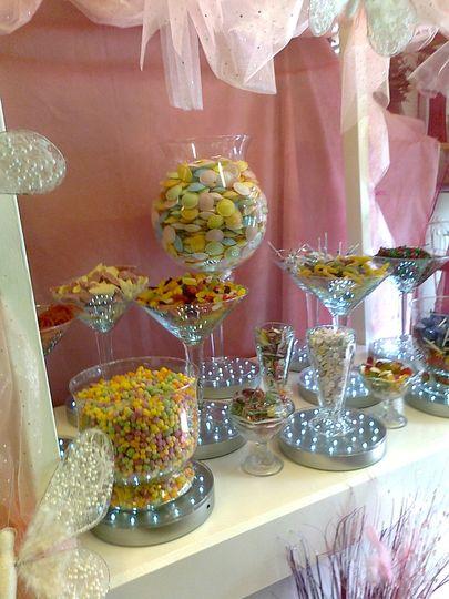 Candy Buffet /  Cart sweets