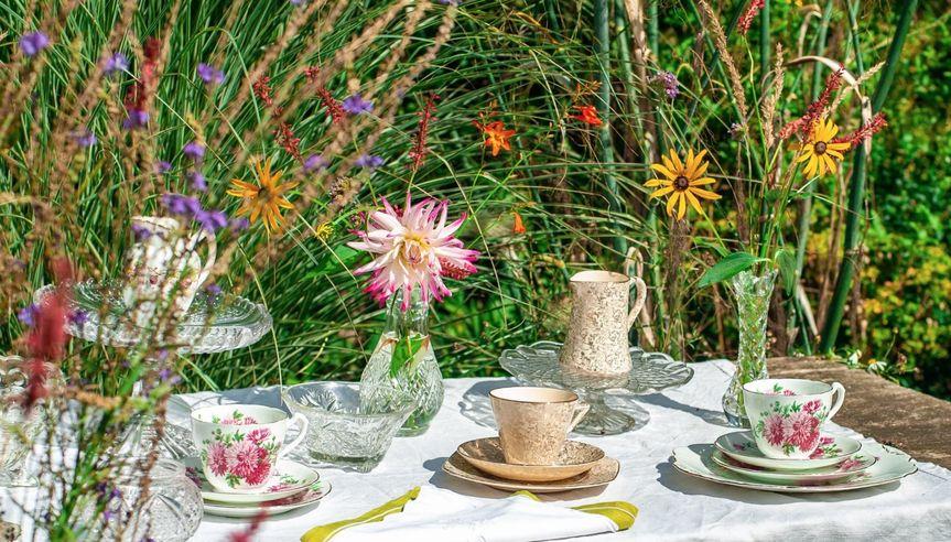 Summertime tea