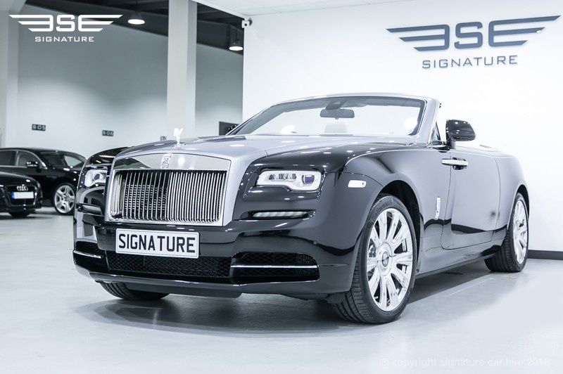 Rolls Royce Dawn Black