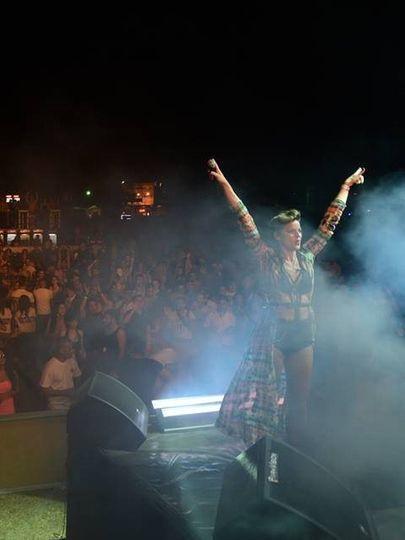 Festival performance