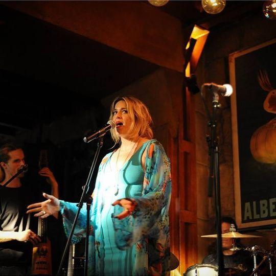 Jazz club residency