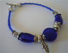 Cobalt Blue Dinky Daina Bracelet