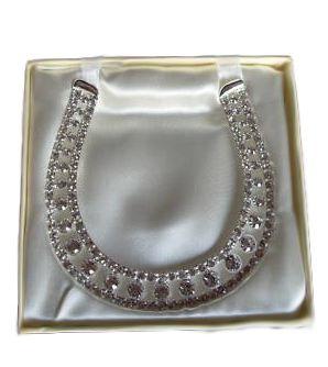 Crystal Bridal Horseshoe