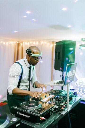 DJ Kelvin at Hawarden Castle