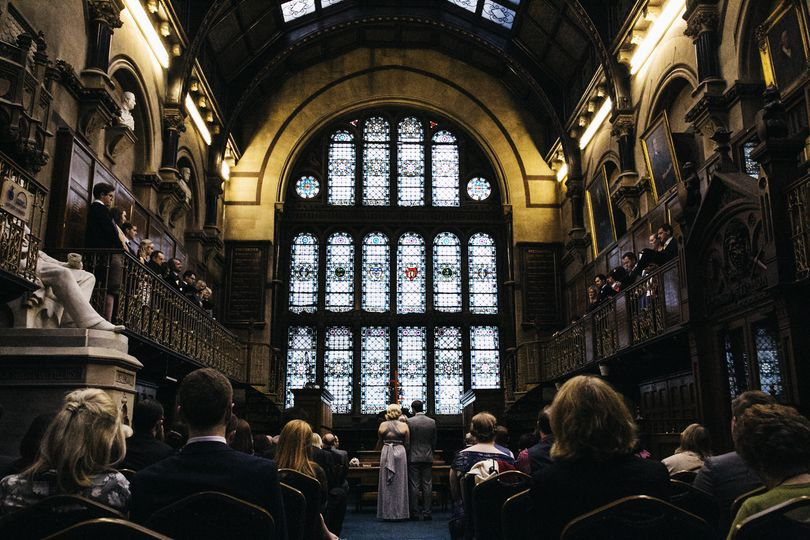 Ceremony in Wood Hall