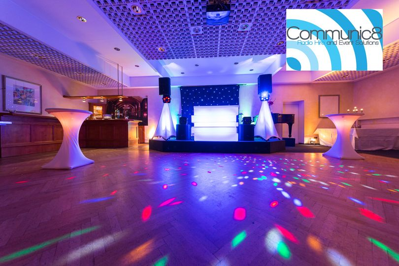 Wedding sound system hire