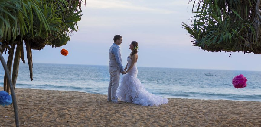 We cater for weddings abroad