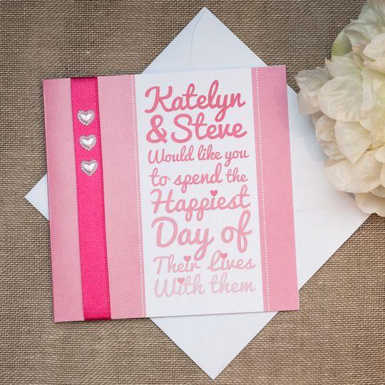 wedding invitation 5 4 94630