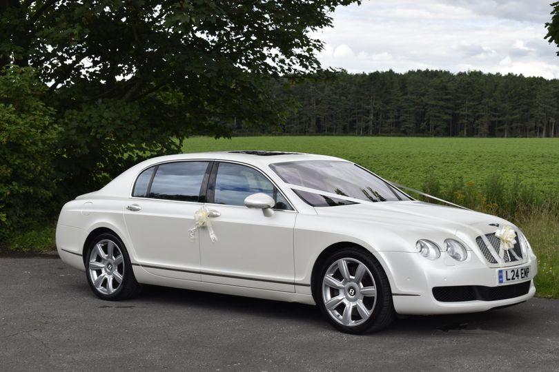 Bentley side view