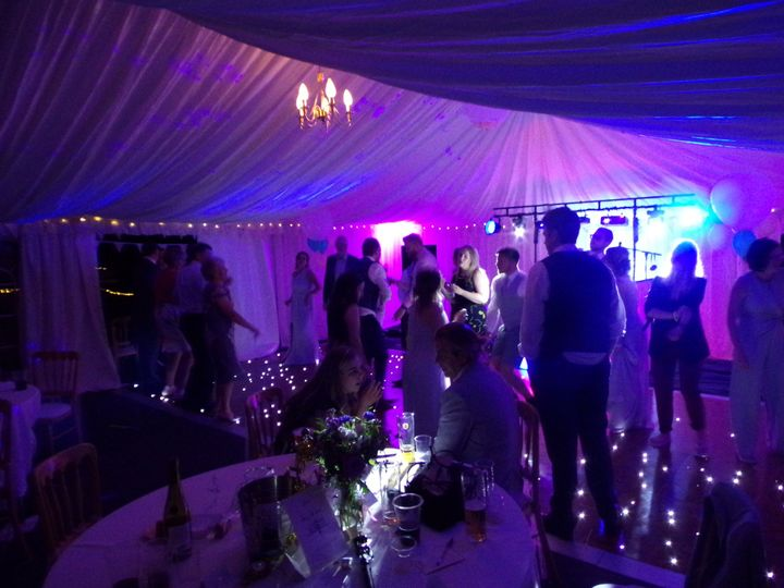 Quirky private marquee
