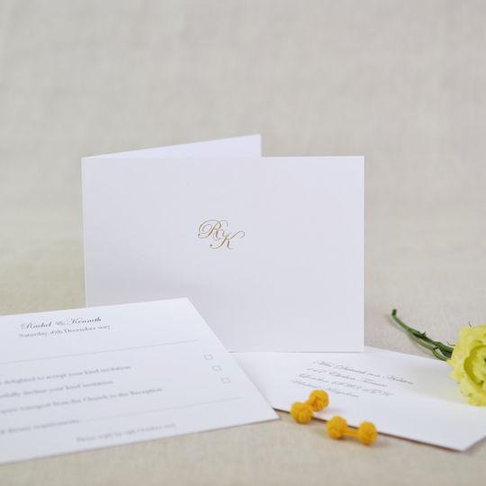 Wedding rsvp card