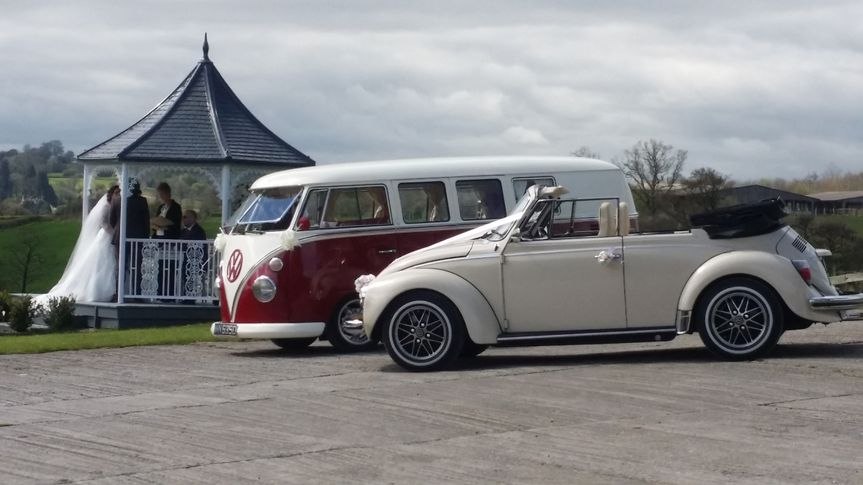 Wedding Cars vintage VW