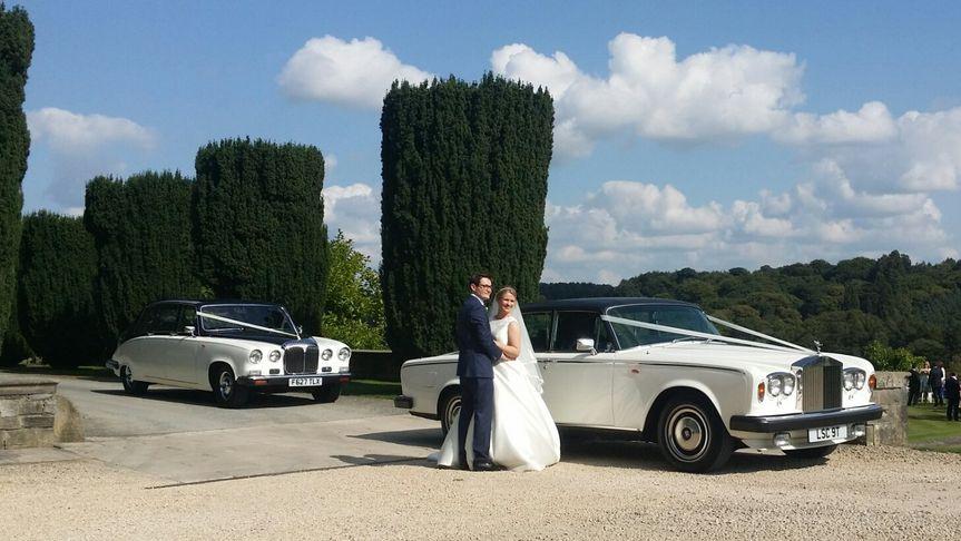 Traditional wedding cars