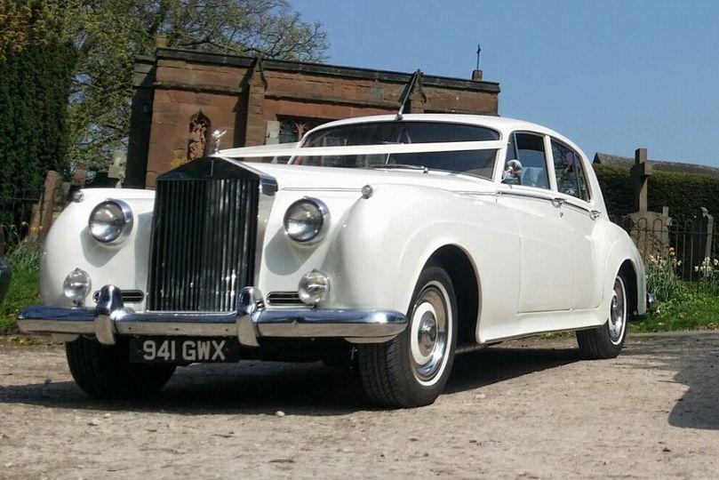 Wedding Car Silver Cloud