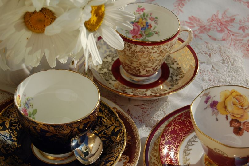Delicate vintage china