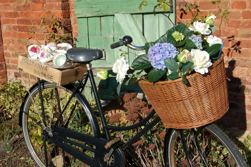 Pollyanna's vintage bicycle