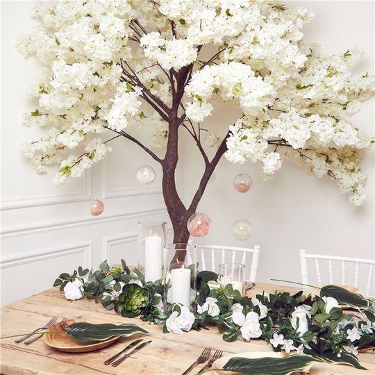 cherry blossom tree wedding decoration strawberryeve 4 274669 159721841842561