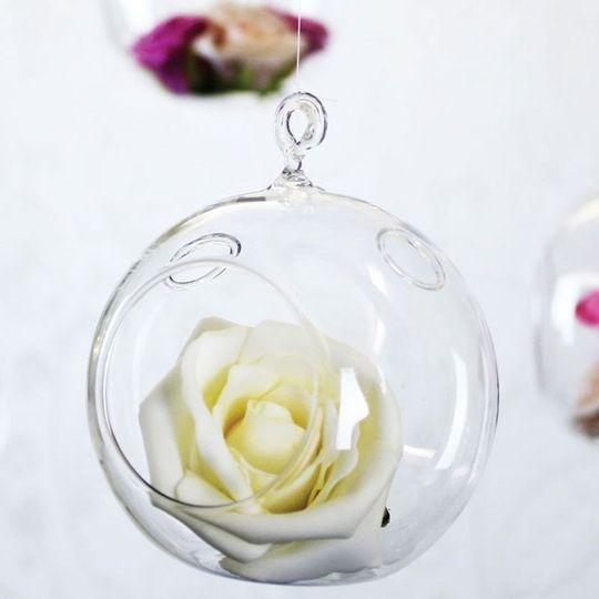 Glass bubble balls