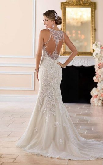 Intricate dress back