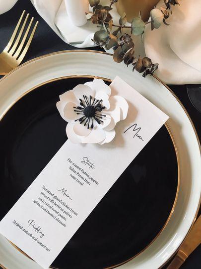 Anemone invitation collection
