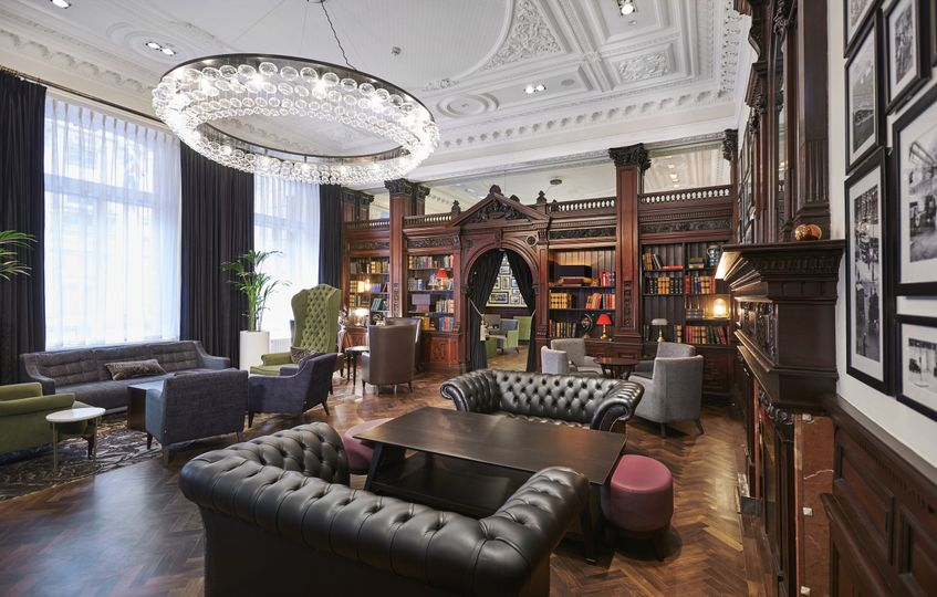 The Library Lounge - Perfect for Drinks Receptions