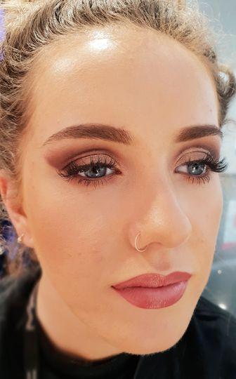 Make up close-up
