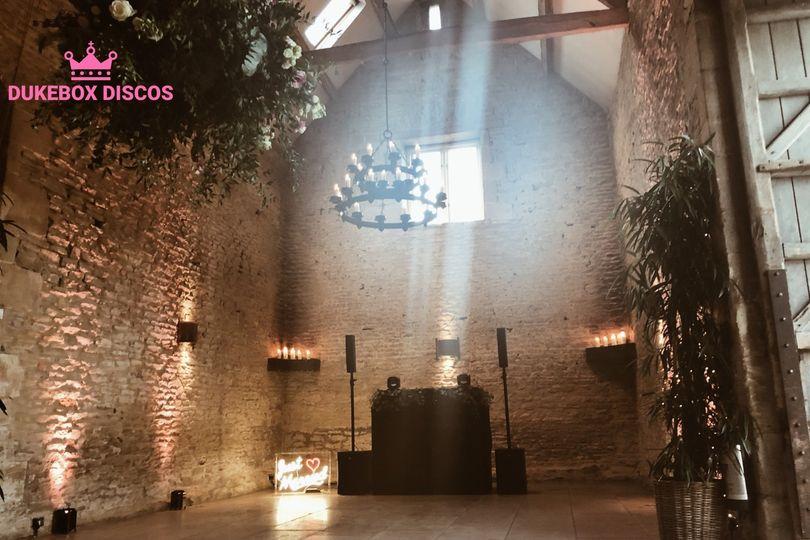 Dukebox Discos - Stone Barn Cotswolds