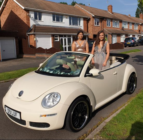 Prom Car hire Leicestershire