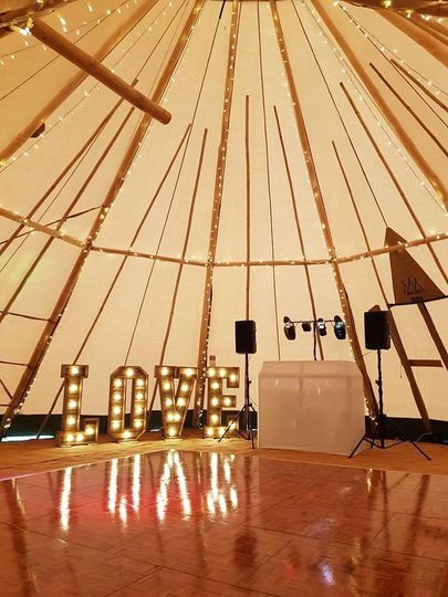 Marquee Hire Shire Tipis 2