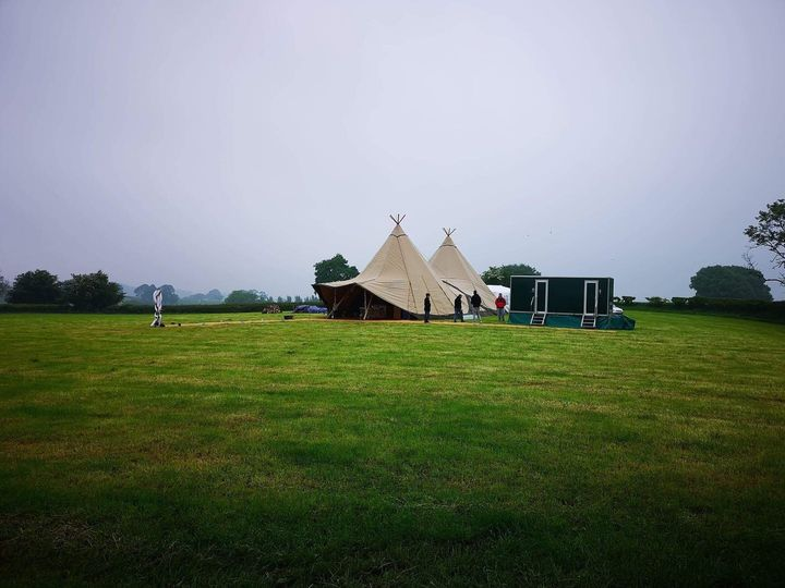 Tipi Wedding in Shropshire