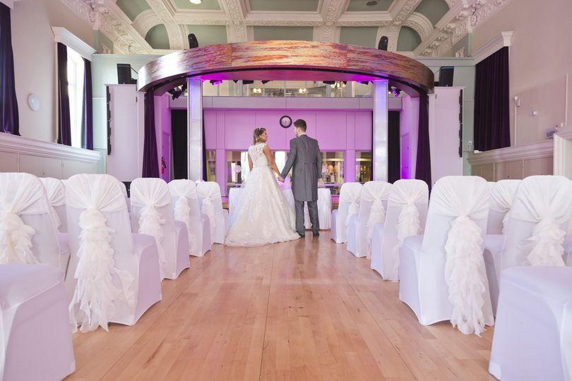 The Ballroom at Accrington Town Hall 19