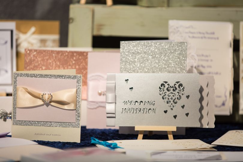 A selection of invitations